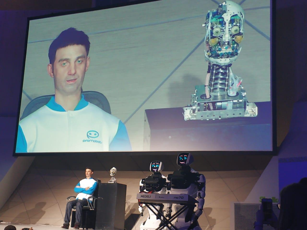 Skolkovo Robotics - Университет Минстроя на глобальном мероприятии в Сколково
