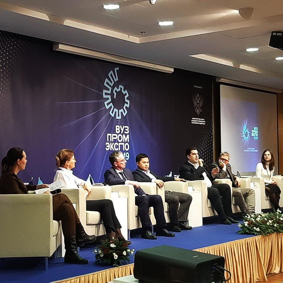 Университет Минстроя принял участие в «Вузпромэкспо-2019»
