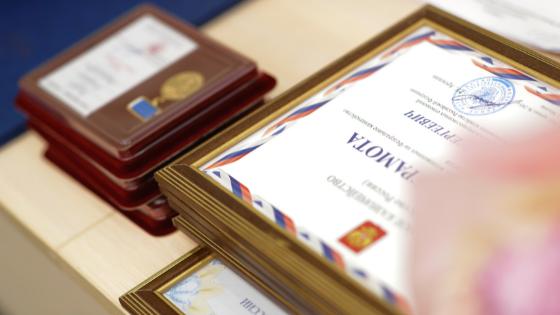 Ирек Файзуллин наградил и поздравил строителей с профессиональным праздником